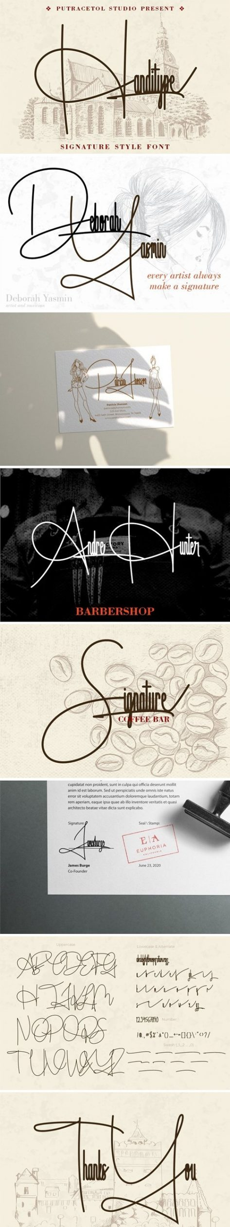 Handitype Signature Style Font 4743674 Free Download