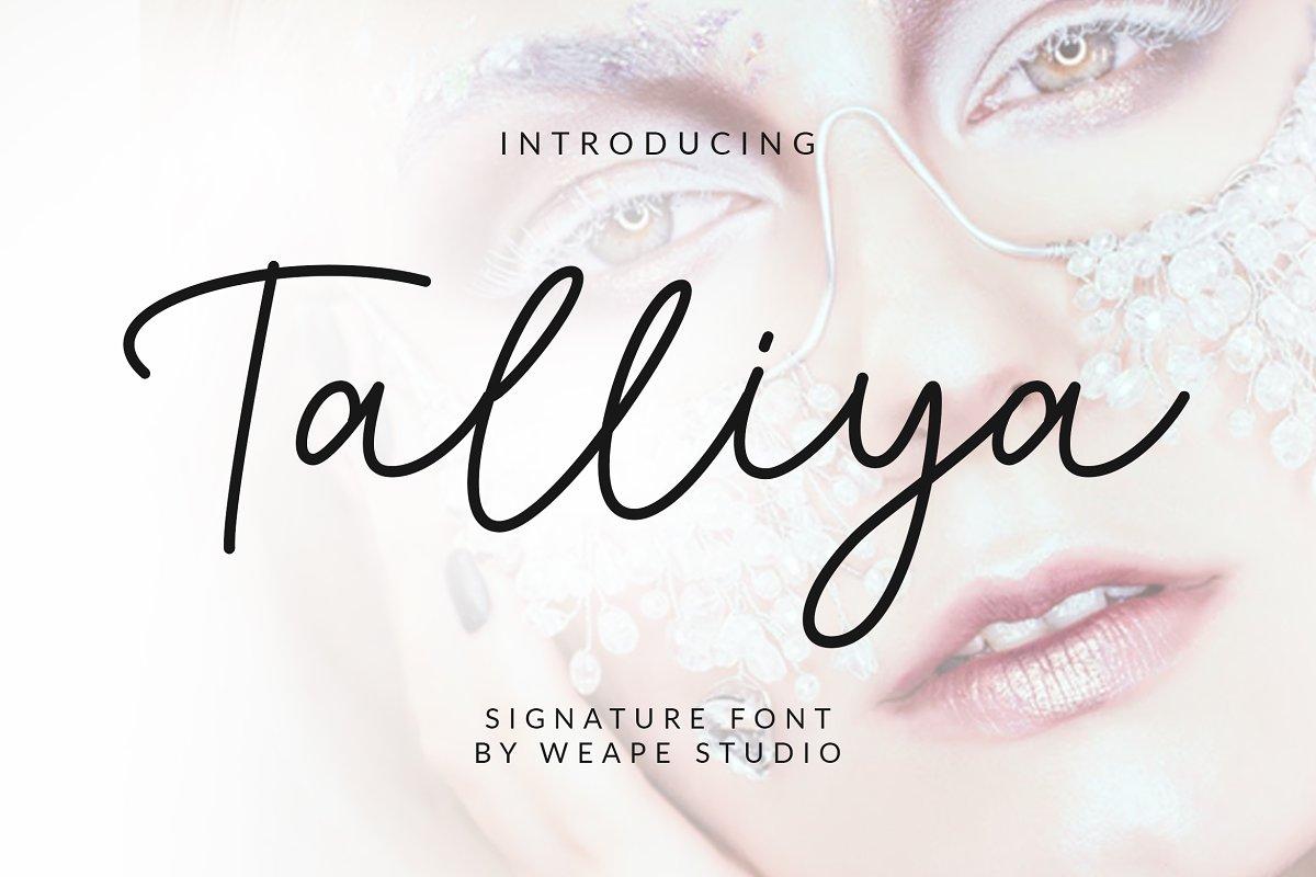 Talliya-Signature-Font-4252625-Free-Download