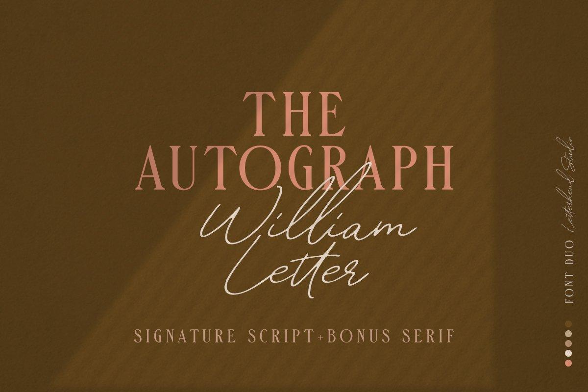 William-Letter-Signature-Script-4170456-Free-Dowload