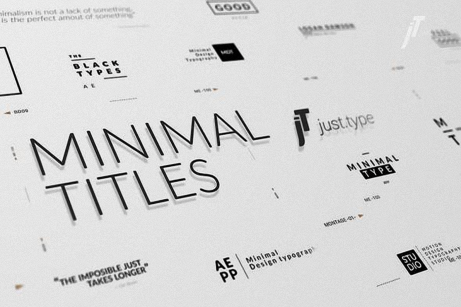 Videohive-Just-Type-Minimal-Titles-23984374-Free-Download