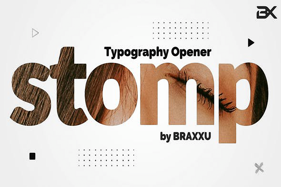 Videohive-Typography-Stomp-Opener-23777352-Free Download