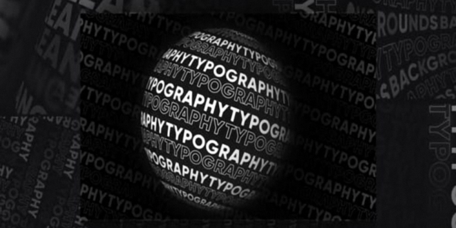 VideoHive Typography Patterns 24958998 Free Download