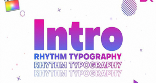 Videohive Rhythm Typography Intro 24758415 Free Download