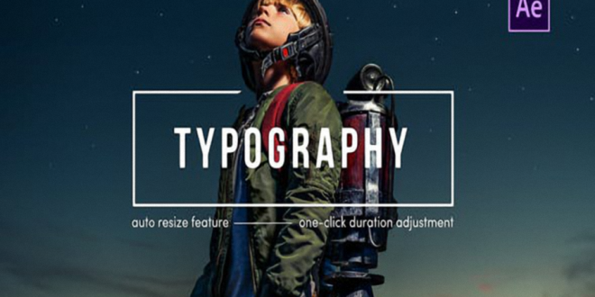 Videohive Typography After Effects 25289609 Free Download
